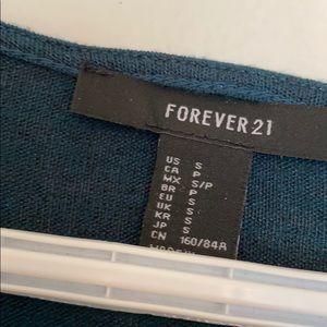 Forever 21 Dresses - FOREVER 21 Long Sleeve Ruched Tulip Dress